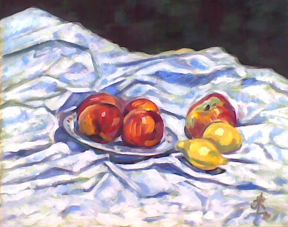 Mrtva priroda sa vocem(Still life:Fruit)